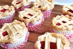 Cherry-pie-cupcakes
