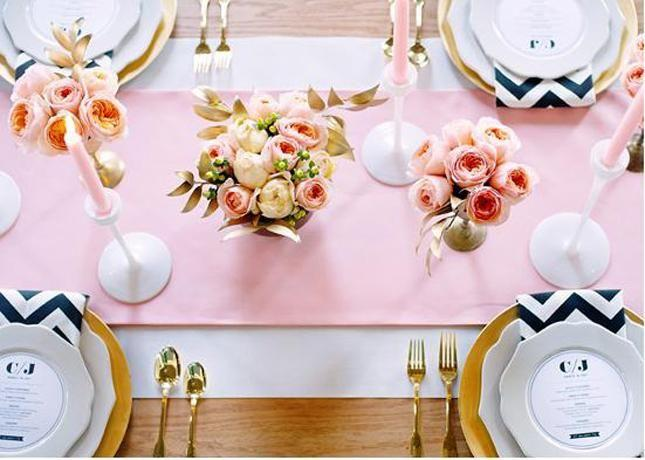pink-and-black-wedding-table-inspiration-perfect-pastel-wedding-ideas-pinterest